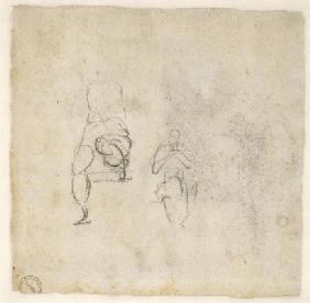 Figure Studies, c.1511 (black chalk on paper)