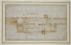 Design for a (?)Relic Chamber, 16th century