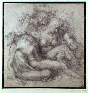 Figures Study for the Lamentation Over the Dead Christ