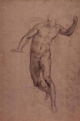 Study for The Last Judgement (W.54 recto)