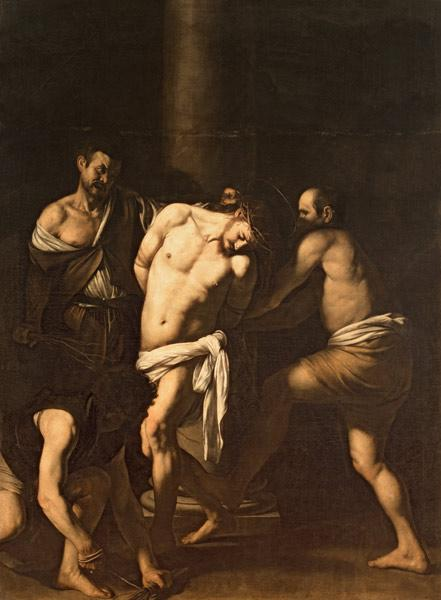 Caravaggio, The Flagellation of Christ