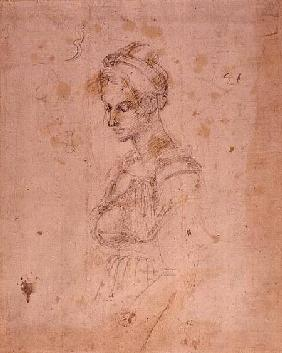 W.41 Sketch of a woman
