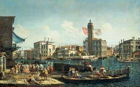 The Canal Grande and S. Geremia, Venice