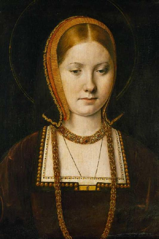 Titolo dell'immagine : Michiel Sittow - Mary Rose Tudor (1496-1533) - mary_rose_tudor_1496_1533_schw