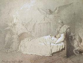 Alexander III on his Deathbed Surrounded by Angels