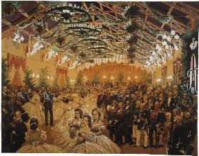 Ball in Honour of Alexander II Arranged in Helsingfors in September 1863 on the Premises of the Rail