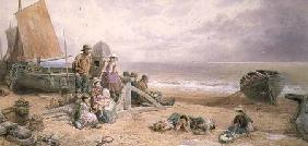 Rottingdean, Beach Scene