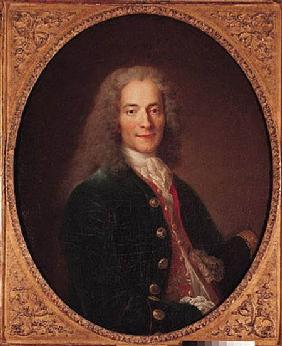 Portrait of Voltaire (1694-1778)