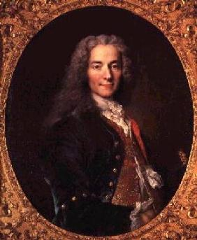 Portrait of Voltaire (1694-1778) aged 23