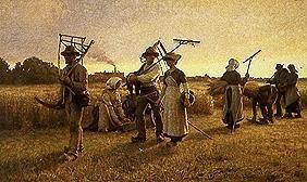 Homecoming of the harvest workers