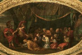 Alexander and The Family of Darius