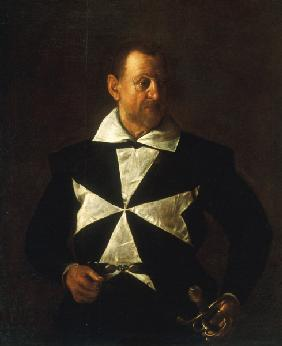 Caravaggio, Portrait of Knight of Malta