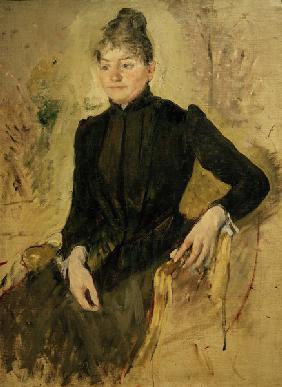 Cassatt / Portrait of a Woman / Painting