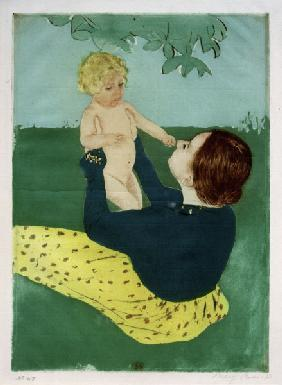 Cassatt / Under the Horse-Chestnut Tree