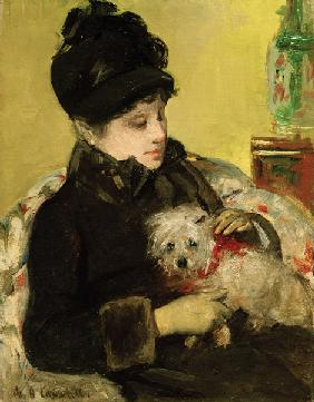 Cassatt / Visitor in Hat and Coat / 1879