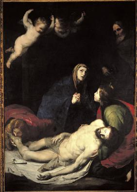 de Ribera / Lamentation of Christ / 1637