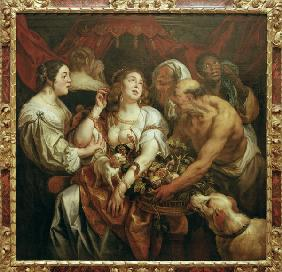 Death of Cleopatra / Jordaens / 1653