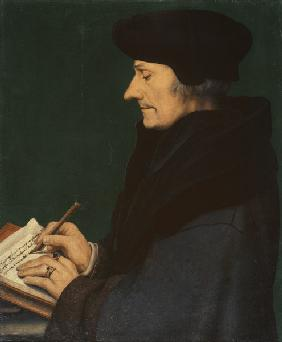 Erasmus of Rotterdam / by Holbein.