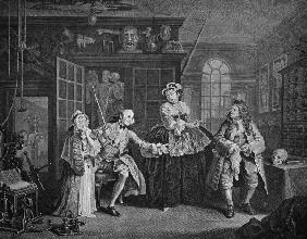 Hogarth / The Scene with the Quack