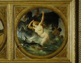 Horace Vernet / Ceiling painting / Paris
