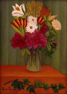 H.Rousseau, Bouquet of Flowers with...