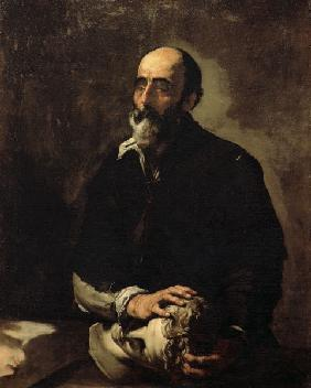 J.de Ribera, Sense of Touch (Blind Man)