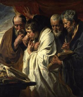 J.Jordaens / The Four Evangelists