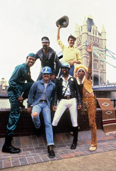 Les Village People in London