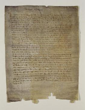 Last will and testament of the artist Master Bertram (c.1345-c.1415) 1410