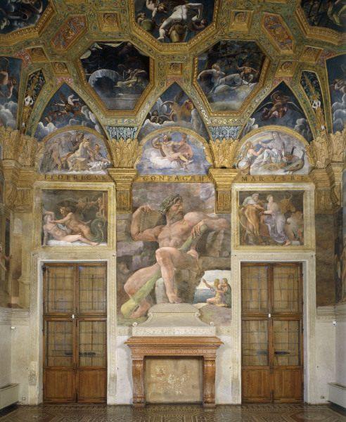 Mantua palazzo del te sala di psiche artist artist - Mantua bagni catalogo ...