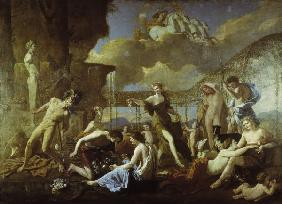 N. Poussin / The Realm of Flora