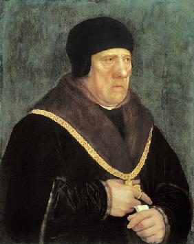 Sir Henry Wyatt / Painting by Holbein