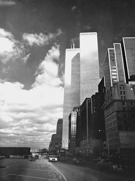 Twin Towers, World Trade Center , New York