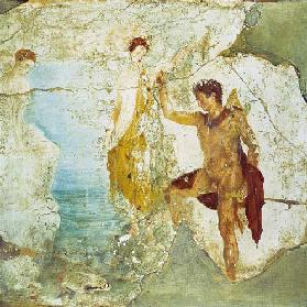 Perseus freeing Andromeda, from the House of the Five Skeletons, Pompeii