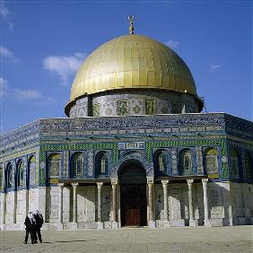 The Dome of the Rock, Temple Mount, built AD 692