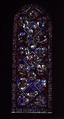 The Life of Joseph, French, 13th century (stained glass)