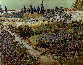van Gogh / Flowering Garden & Path /1888