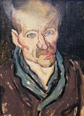 van Gogh / Portrait of a patient / 1889