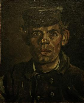 Van Gogh, Peasant in Peaked Cap / Paint.