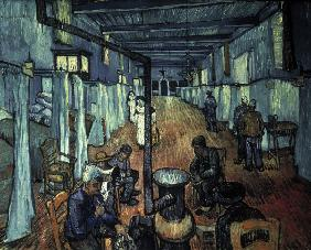 Van Gogh/Dormitory at the Hospital/1889
