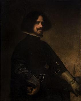 Velasquez / self portrait