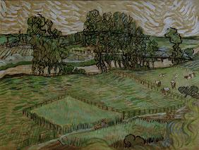 v.Gogh, The Oise at Auvers / 1890