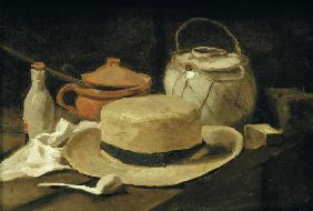 vGogh/Still life w.yellow straw hat/1881
