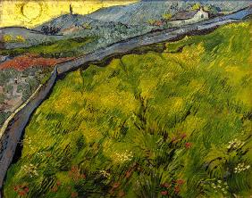 V.v.Gogh, Cornfield at sunrise
