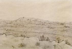 V.v.Gogh, Plain of La Crau / Draw./1888
