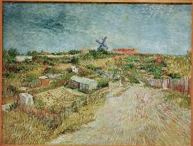 V.v.Gogh,Veget.Gard.at Butte Montmartre
