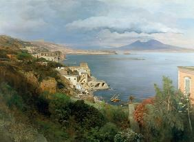 View at the Gulf of Naples