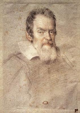 Portrait of Galileo Galilei (1564-1642) Astronomer and Physicist
