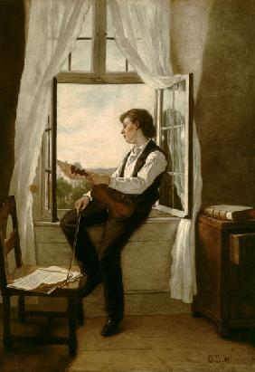 The violinist at the window