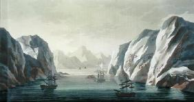 Seeking the North West Passage - the British Voyage to Spitzbergen, 1818, from 'Le Costume Ancien et